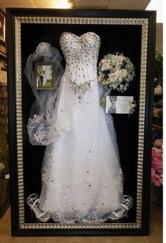 Wonderful [ Framed Wedding Dress Preserved Freeze Dried Bouquet Floral ]   Best Free  Home Design Idea U0026 Inspiration