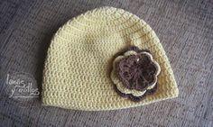 Gorro crochet facil patron gratis