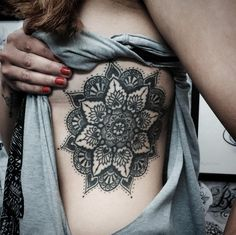 amazing mandala tattoo #ink #youqueen #girly #tattoos #mandala