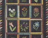 Primitive Folk Art Quilt Pattern:  BEST OF ALL. $8.75, via Etsy.