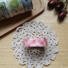 Mt and paper tape mt ex【Sakura - Qmono - Washi Tapes Washi Tapes, Paper Tape, Crochet Earrings