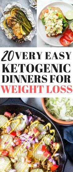 20 Tasty Ketogenic Dinners That Can Help You Lose Weight #ketodiet #ketogenicdiet #lowcarb #loseweight #keto