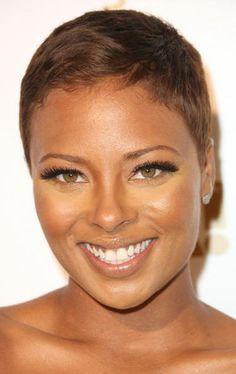 Black Natural Hairstyles | Eva Pigford at Tru Hollywood in Hollywood, California.