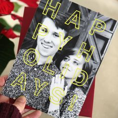 Christmas Card design idea from Social Print Studio