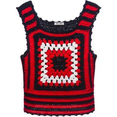 Miu Miu Gilet ($1,490) ❤ liked on Polyvore featuring outerwear, vests, tops, blue and miu miu