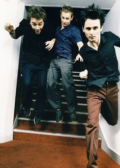 Muse- of course, Matt looks fantastic while the others look like dorks