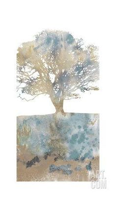 Water Tree II Art Print by Stephane Fontaine at Art.com