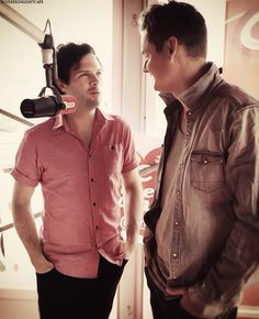 Tom Chaplin and Jesse Quin