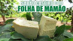 Como fazer SABÃO CASEIRO com FOLHA DE MAMÃO - Ótima qualidade!  Fran Adorno