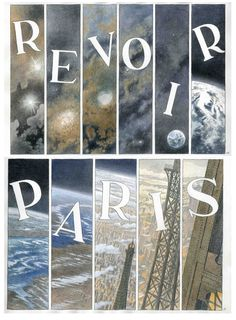 First page from Revoir Paris, the next graphic novel by Francois Schuiten (to be published in Nov 2014)