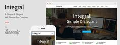 [ #WordPress ]- Integral: Free One-Page Parallax WordPress Theme Review