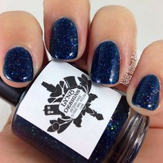 LynBDesigns Chicago After Midnight And July, Swatch, Nail Polish, Cool Stuff, Nails, Beauty, Beautiful, Collection, Chicago