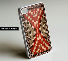 Native American Indian Pattern - iPhone 4 Case,
