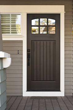 27 pictures of black front doors - Front Door Design Ideas