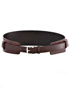 Crocodile Fashion Belt from Ava Adorn