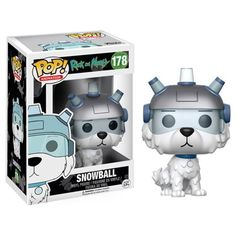 (affiliate link) Rick and Morty Snowball Pop! Vinyl Figure