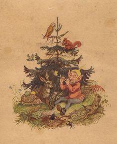 Märchenillustration von Professor Paul Hey, Maler, Grafiker und Illustrator (19.10.1867 in München - 14.10.1952 Gauting)