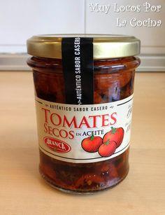 Tarro de Tomates Secados al Sol en Aceite de Oliva
