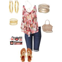 Summer lunch date outfit