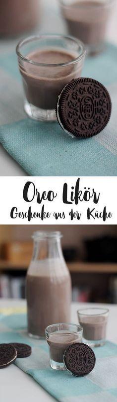 Oreo Likör selbermachen - DIY Geschenke aus der Küche - Likör für den Mädelsabend - Rezeptidee