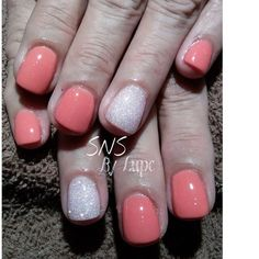 Sns Nails 233 Quot Pretty In Pink Quot Via Sns Nail Systems On