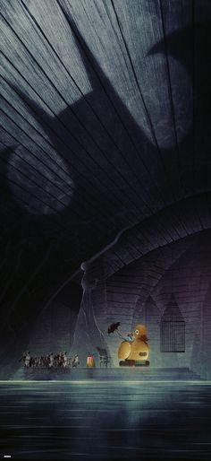 Batman Returns by Matt Ferguson