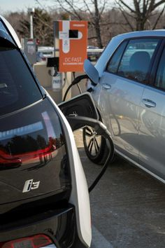 High-speed electric car chargers to link San Diego, SF, Portland. The chargers will be quick — capable of restoring 80 percent of the charge in a BMW i3 or Volkswagen e-Golf in 30 minutes or less. They will be spaced no more than 50 miles apart, to ensure that drivers don't get stranded.