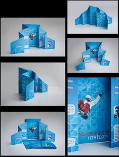 Snowboarding, Design, Creative Brochures, Brochure
