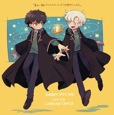 ama-paint: The Cursed Child Fanart Harry Potter, Harry Potter Car, Harry Potter Cursed Child, Albus Severus Potter, Harry Potter Artwork, Harry Potter Illustrations, Harry Potter Draco Malfoy, Harry Potter Facts, Ginny Weasley