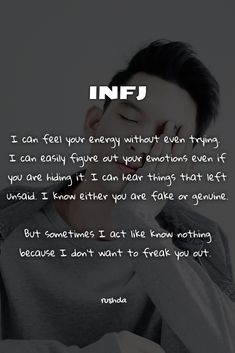 Advocate Personality Type, Introvert Personality, Introvert Quotes, Infj Infp, Myers Briggs Personality Types, Infj Traits, Infj Type, Psychology Quotes, Workout