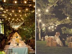 Oh So Romantic Carnival Lights | Lake Tahoe Wedding Inspiration | Tahoe Unveiled Blog