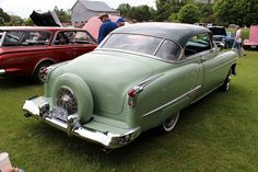 1952 Oldsmobile 88 Hardtop. Maintenance/restoration of old/vintage vehicles: the material for new cogs/casters/gears/pads could be cast polyamide which I (Cast polyamide) can produce. My contact: tatjana.alic@windowslive.com