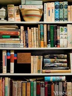 It's easy to lose yourself for hours in the vintage cookbooks...