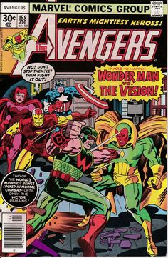 Avengers 158 April 1977 Issue  Marvel Comics  Grade by ViewObscura