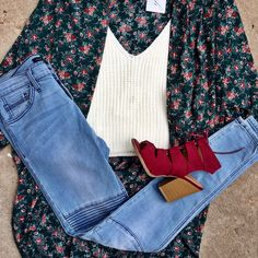 We love this look for Fall!
