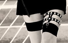Studded garter