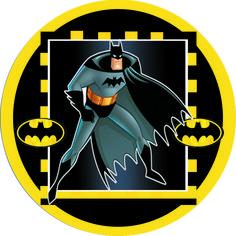 Batman latinha gelatinha