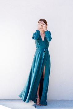 wrap dresses flattering on every body!!!!