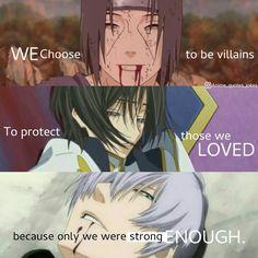 Animequotes Anime quotes Itachi uchiha Lelouch Gin ichimaru Bleach code geass bleach