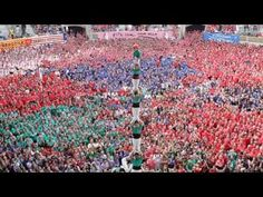 """Casteller"" by photographer Mike Randolph. In the city of Tarragona, Spain, castellers gather every two years to see who can build the highest, most intricate Human castles!  Wow"