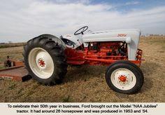 Ford Model NAA Jubilee tractor, 1953