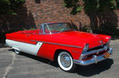 Car of the Week: 1955 Plymouth Belvedere convertible - Old Cars Weekly Plymouth Savoy, Plymouth Belvedere, Plymouth Fury, Plymouth Rock, Convertible, Chrysler Valiant, Chrysler Cars, Chrysler Usa, Plymouth Muscle Cars