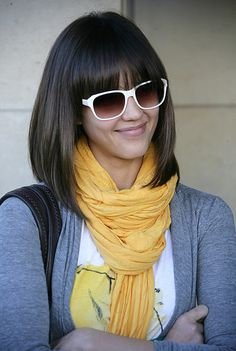 Amazing short hairstyles and bob haircuts. - Bob Hairstyles and Beauty Tips all new and popular trends. Enjoy our Bob Hairstyles and Beauty Tips ! I Love Bob Hairstyles ! Bobbed Hairstyles With Fringe, Medium Bob Hairstyles, Haircuts With Bangs, Bob Haircuts, Long Bob With Fringe, Long Bob With Bangs, Short Bangs, Graduated Bob With Fringe, Full Fringe