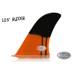 Quilla para Longboard modelo Rudder medida 10'5''Innovador modelo para los amantes del longboard, esta quilla permite todo surfear todo tipo de olas y desarrollar un longboard clásico o progresivo. Dimensiones:Base: 165mm | 6.49