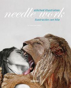 NEEDLE WORK. Ilustración con hilo | Instituto Monsa de Ediciones