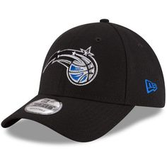 new arrival 7fc44 2fe80 Orlando Magic New Era 9FORTY NBA League Adjustable Strap Hat Cap Black 940