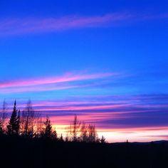 #sunset #burkemountain #vermont #nofilterneeded