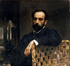 Portrait of the artist Isaak Ilyich Levitan (1860-1900), 1893 (oil on canvas) by Valentin Aleksandrovich Serov / Tretyakov Gallery, Moscow, Russia
