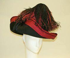 Hat  Date: ca. 1910 Culture: American Medium: straw