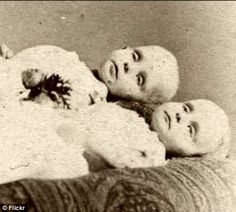 Victorian Post Mortem Tintypes The deceased were immortalized in photographs during the Victorian era. Victorian After-Death Photos Still Haunt
